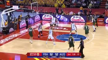 Mondiali basket, 30 punti di Patty Mills contro la Francia