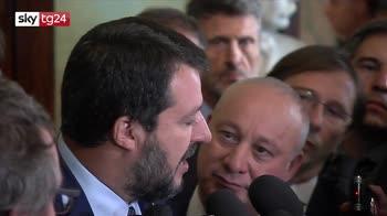 Salvini: governo nato per spartirsi poltrone
