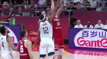 Mondiali Basket: super stoppata di Myles Turner