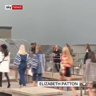 Gigi Hadid removes gatecrasher from Paris catwalk