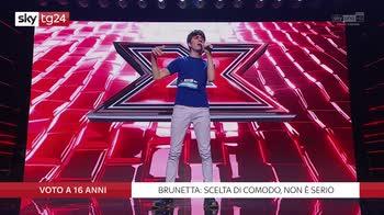 X Factor, Nuela: voto a 16 anni? A 18 si fa la maturita
