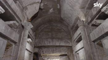 Sette Meraviglie Roma: La cripta dei papi