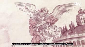 Sette Meraviglie Roma: L'Arcangelo Michele