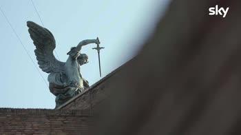 Sette Meraviglie Roma: La statua dell'angelo