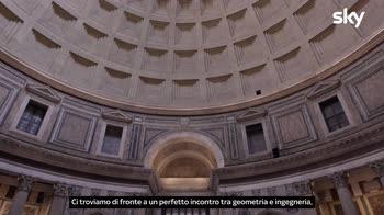 Sette Meraviglie Roma: L'interno del Pantheon