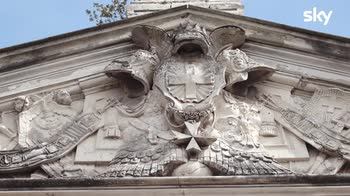 Sette Meraviglie Roma La facciata della Chiesa del Priorato