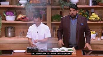 ACALezione di Tokuyoshi nell'Academy di Chef Cannavacciuolo