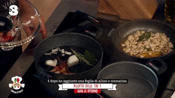 Cuochi d'Italia 10: Chicche d'Italia, risotto delle tre F