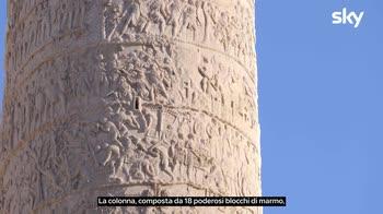 Sette Meraviglie Roma: La colonna Traiana