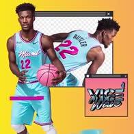 NBA la nuova versione della maglia Vice City dei Miami Heat