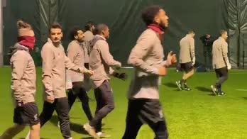 Liverpool-Napoli, la rifinitura dei Reds
