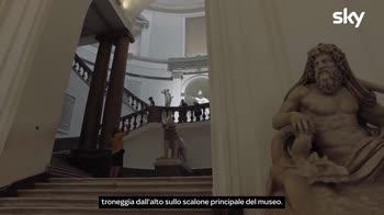 Musei - MANN: La statua in onore di Ferdinando IV