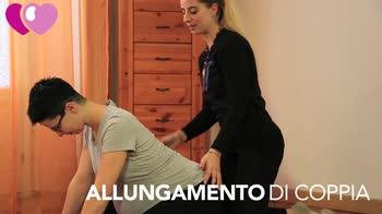 video allungamento di coppia per la gravidanza