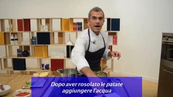 Max cucina l'Italia – Minestra di pasta e patate