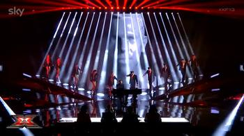 video davide toxic britney spears semifinale x factor