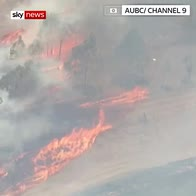 'Firenado' rages across Queensland