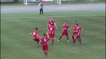 Serie D, Matelica: che gol in sforbiciata di Massetti
