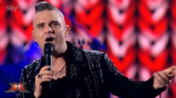 video robbie williams ospite x factor