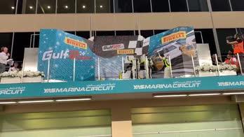 La festa sul podio: team Rossi protagonista ad Abu Dhabi