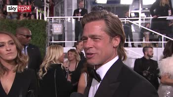 Golden Globes 2020, Brad Pitt elogia menu vegano