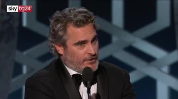 ERROR! Golden globe, Joaquin Phoenix miglior attore per 'Joker'