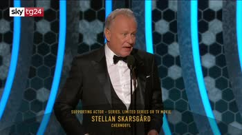 ERROR! Golden globe, Skarsgard miglior attore non protagonista