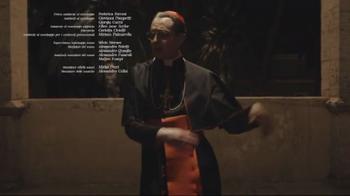 The New Pope, il ballo di Maurizio Lombardi