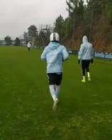 video rafinha casco allenamento