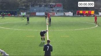 video under 17 gol meno quattro secondi