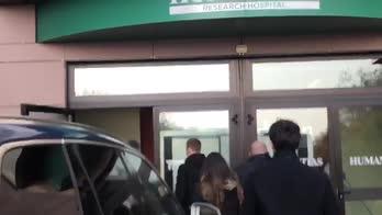 Inter, Eriksen all'Humanitas per le visite mediche