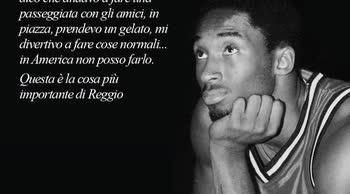 La Reggiana ricorda Kobe Bryant