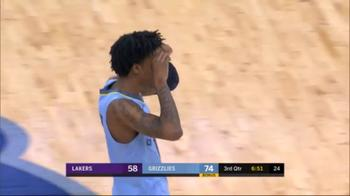 NBA, 14 assist di Ja Morant contro i Lakers