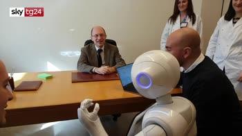 ++PROGRESS Medicina, a S. Giovanni Rotondo un robot aiuta