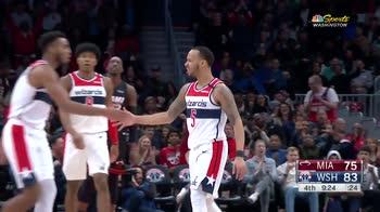 NBA Highlights: Washington-Miami 89-100