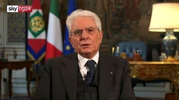 Mattarella, grazie a italiani per sacrifici, pagina triste nostra storia