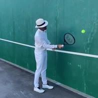 Coronavirus, sportivi si sfidano nella Federer Challenge