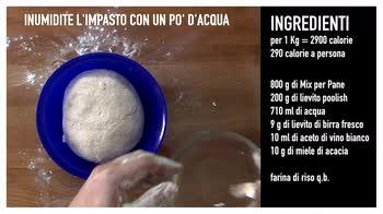 video ricetta: baguette senza glutine