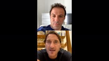 video-totti-cristian-lazio-del-piero-diretta-instagram
