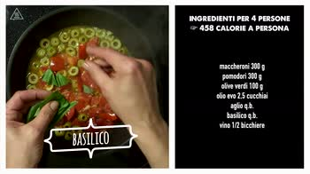 Video ricetta: Maccheroni al forno in salsa di olive