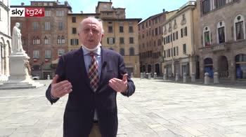 Sindaco di Lucca sopravvissuto al Covid