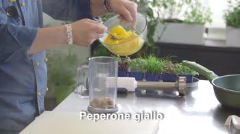 Senza Glutine – Mezzi rigatoni con crema di peperoni