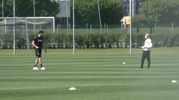 """Sassuolo torna ad allenarsi: """"Finalmente in campo"""""""
