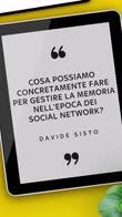 Consigli di lettura: Ricordati di me di Davide Sisto