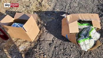california, in autostrada trovata scatola con 1 mln dollari