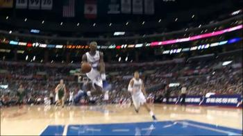 NBA, l'alley oop di Jamal Crawford a Blake Griffin