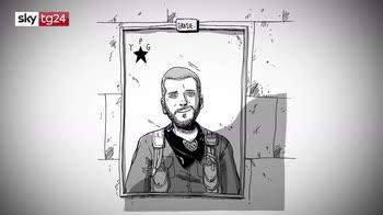Quarantena e Kobane, a Sky Tg24 Zerocalcare si racconta