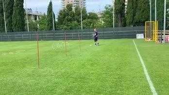 Genoa, Masiello si allena al Signorini