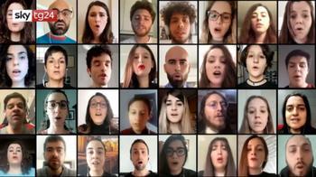 ++NOW Il coro virtuale canta l'Hallelujah di Leonard Coen