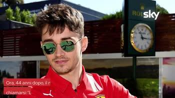 VIDEO Leclerc correrà su una Ferrari nel film di Lelouch