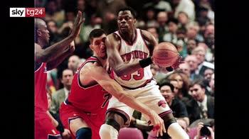 Patrick Ewing, giocatore NBA annuncia di essere positivo al coronavirus